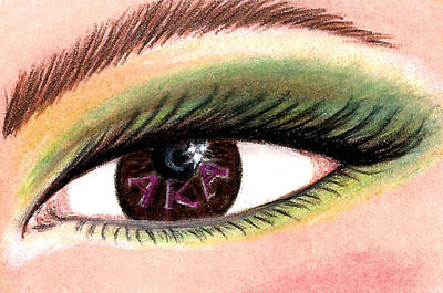 Eye Of The Beholder Series- A K A Print by BFly Designs