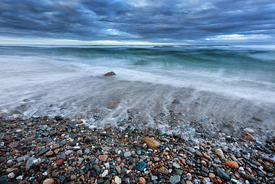 Seascape Photograph - Eye Of The Storm by Bill Wakeley