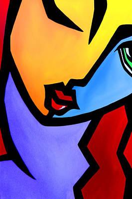 Pop Art Drawing - Eye On You By Fidostudio by Tom Fedro - Fidostudio