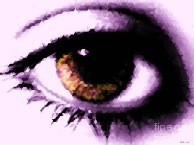Eye See Print by Elizabeth McTaggart