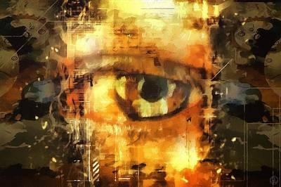 Eye See You Print by Gun Legler