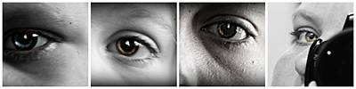 Manipulation Photograph - Eye Sequence by Felicity McNelley