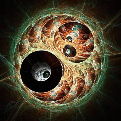 Eyeballs Print by Anastasiya Malakhova