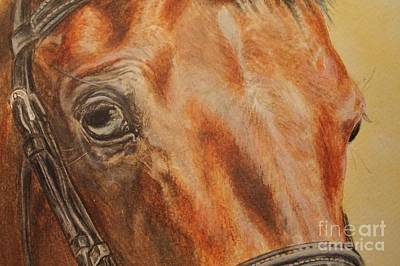 Stallone Mixed Media - Eyes Kiwi - A Fragment Of A Portrait by Dorota Zdunska