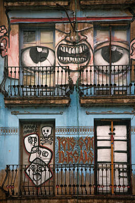 Eyes Of Barcelona Print by Joanna Madloch