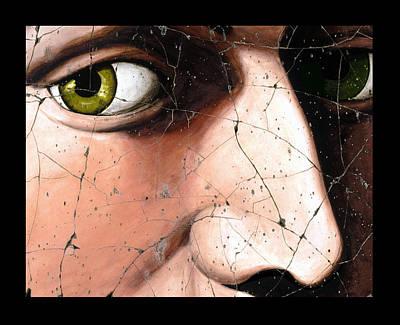 Eyes Of Bindo Altoviti - Study No. 1 Print by Steve Bogdanoff