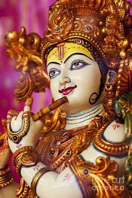Colourfull Photograph - Eyes Of Krishna by Tim Gainey