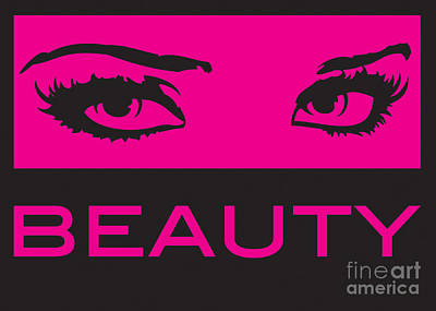 Eyes On Beauty Print by Suzi Nelson