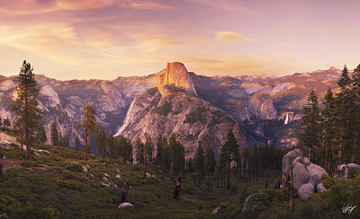 Peter James Nature Photograph - Eyes Over Yosemite  by Peter Coskun