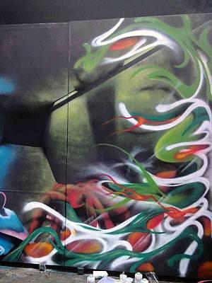 Oceq Painting - Eyioce #1.4 by Oke Masdiananta