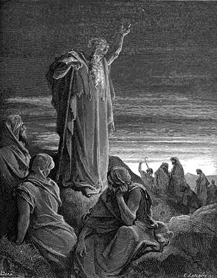 Immaculate Painting - Ezekiel Prophesying by Celestial Images