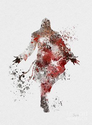 Ezio  Print by Rebecca Jenkins