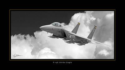 F-15e Strike Eagle Print by Larry McManus