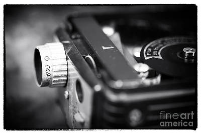 8mm Photograph - F 2.7 by John Rizzuto