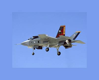F-35 Short Take Off Vertical Landing Print by L Brown