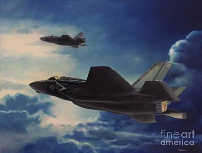 F-35b Lightening II Print by Stephen Roberson