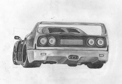 F40 Print by Avery Wilson