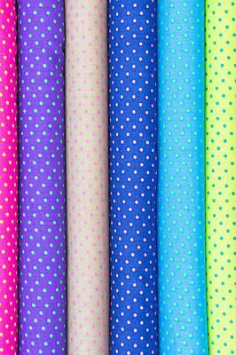 Fabric Rolls Print by Tom Gowanlock