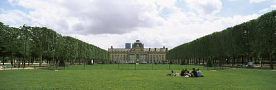 Ecole Photograph - Facade Of A Building, Ecole Militaire by Panoramic Images