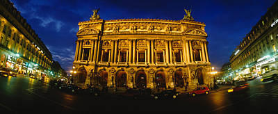 Facade Of A Building, Opera House Print by Panoramic Images