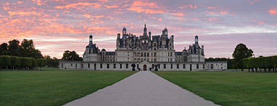 Cher Photograph - Facade Of A Castle, Chateau Royal De by Panoramic Images