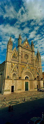 Orvieto Photograph - Facade Of A Cathedral, Duomo Di by Panoramic Images