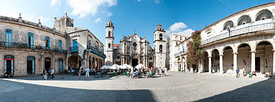 Facade Of A Cathedral, Plaza De La Print by Panoramic Images