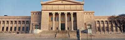 Facade Of A Museum, Field Museum Print by Panoramic Images