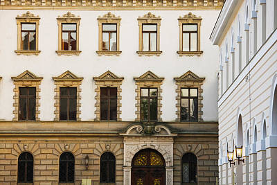 Facade Of A Palace, Schloss Thurn And Print by Panoramic Images