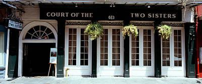 Food And Drink Photograph - Facade Of A Restaurant, Court Of Two by Panoramic Images