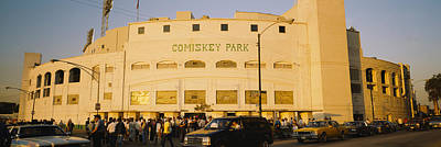 Facade Of A Stadium, Old Comiskey Park Print by Panoramic Images