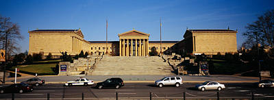 Philadelphia Scene Photograph - Facade Of An Art Museum, Philadelphia by Panoramic Images