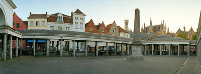 Business-travel Photograph - Facade Of An Old Fish Market, Vismarkt by Panoramic Images