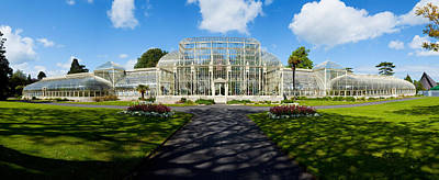 Curvilinear Photograph - Facade Of Curvilinear Glass House by Panoramic Images