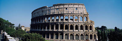 Ancient Civilization Photograph - Facade Of The Colosseum, Rome, Italy by Panoramic Images