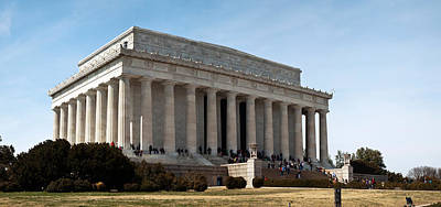Facade Of The Lincoln Memorial, The Print by Panoramic Images