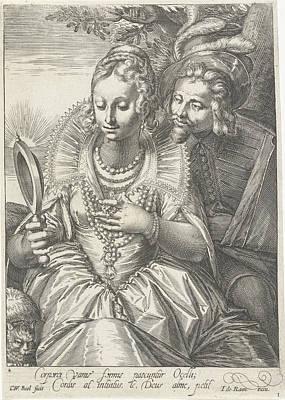 Face, Cornelis Boel, Anonymous, Johannes De Ram Print by Cornelis Boel And Anonymous And Johannes De Ram