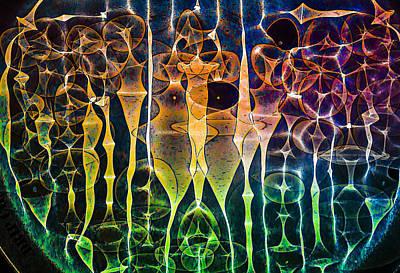 Friendly Digital Art - Face Of Chaos by Scott Campbell