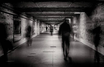 Underground Photograph - Faceless #1 by Greg Morgan