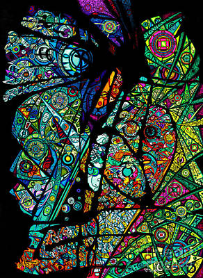 Gift Of Love Drawing - Facets Of Love by Joey Gonzalez