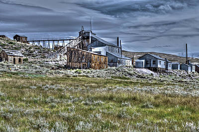 Building Photograph - Factory At Bodie 2 by SC Heffner