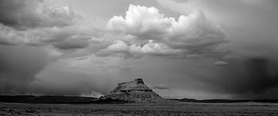 Factory Butte Print by TL  Mair