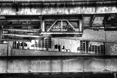 Factory Ruins Print by Jan Brons