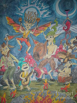 Faerie Band Jam Original by Faeriebluemoon Creations Tressure Hardcastle