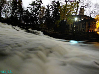 Fair Lane Waterfall Original by Michael Rucker