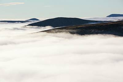 Fairfield From Red Screes Print by Ashley Cooper