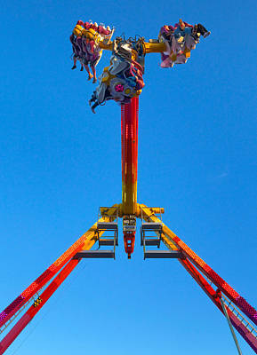 Funfair Photograph - Fairground Ride, Tramore, County by Panoramic Images