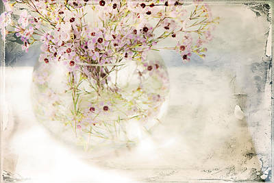 Fairy Bouquet Print by Theresa Tahara