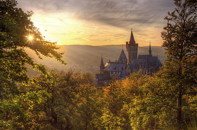 Fairy Castle Print by Steffen Gierok