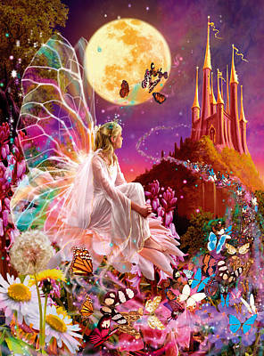 Castle Photograph - Fairy Dream Variant 2 by Garry Walton